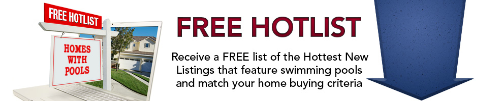 Hotlist of Homes with Swimming Pools Image